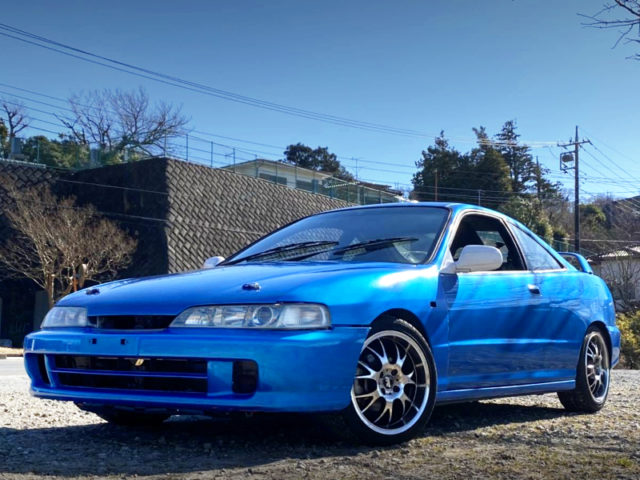 FRONT EXTERIOR OF DC2 INTEGRA SiR to BLUE.
