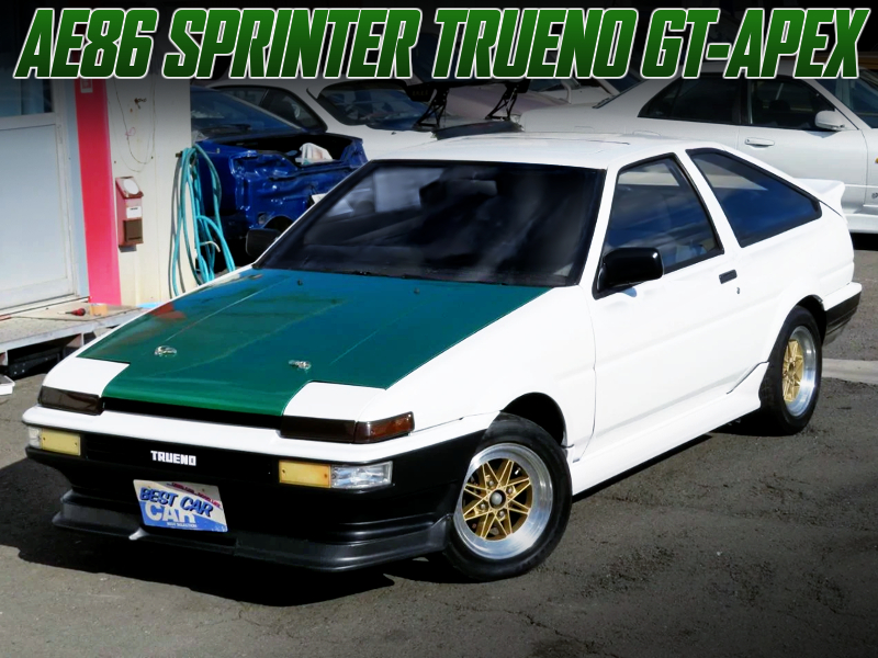 AE86 SPRINTER TRUENO LOOK LIKE A DRIFT KING AE86.