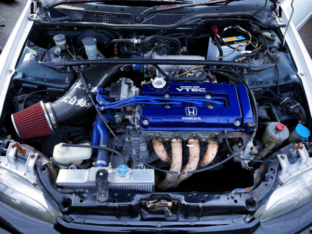 REINFORCED B16A VTEC ENGINE to 201PS