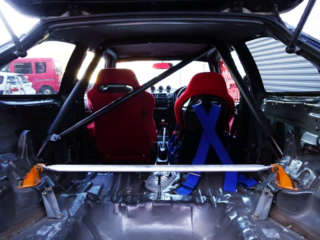 ROLL BAR INSTALLED and TWO-SEATER CONVERSION.