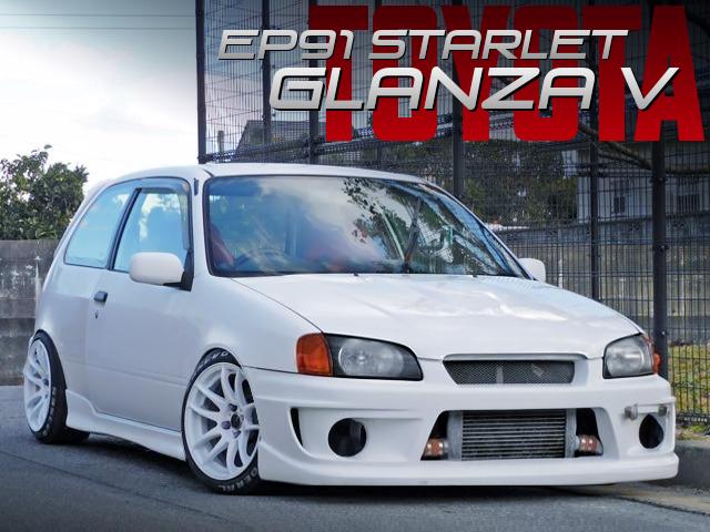 TRACK STANCED EP91 STARLET GLANZA V.