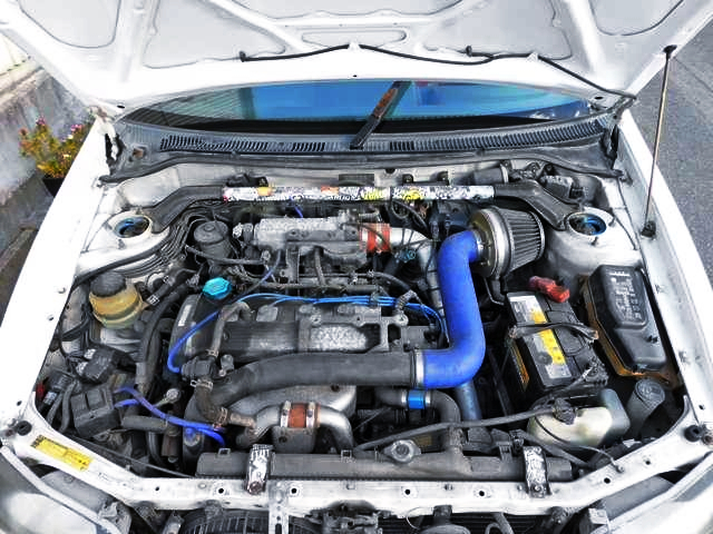 4E-FTE 1.3L TURBO ENGINE OF GLANZA V MOTOR.
