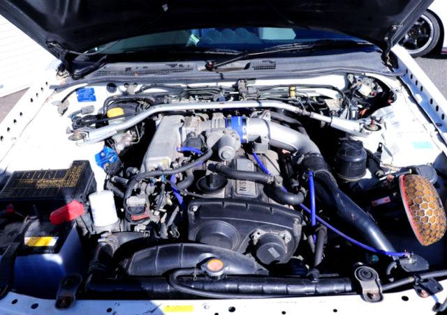 RB25DET 2.5L TURBO ENGINE with HKS GT-RS TURBINE.