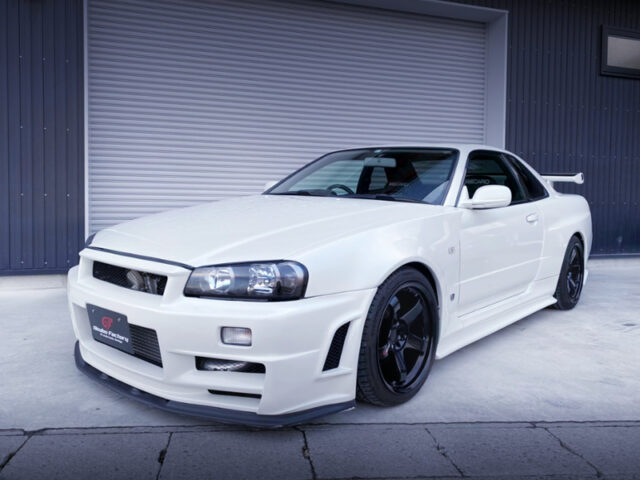 FRONT EXTERIOR OF ER34 25GT-T with R34 GTR CONVERSION.
