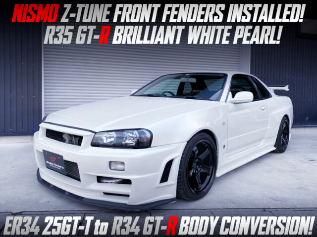 ER34 25GT-T to R34 GT-R BODY CONVERSION.