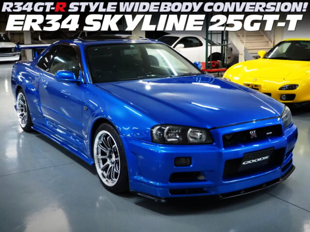ER34 25GT-T TO R34 GT-R STYLE WIDEBODY CONVERSION.