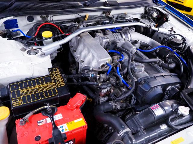 RB25DET 2.5L TURBO ENGINE of ER34 MOTOR.