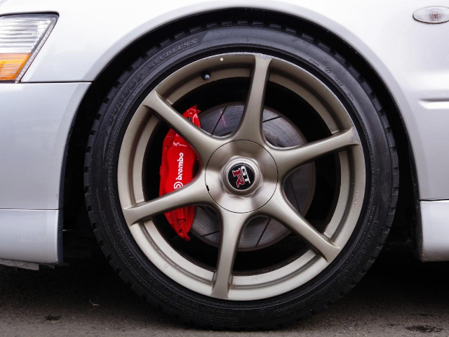 GENUINE R34GT-R FRONT FORGED WHEEL.