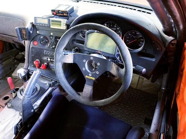 FD3S RX-7 CUSTOM DASHBOARD.