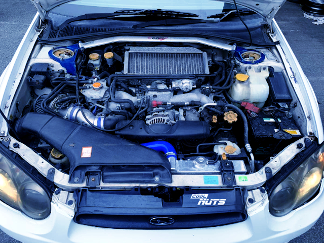 EJ205 BOXER TURBO ENGINE To 300HP TUNING.