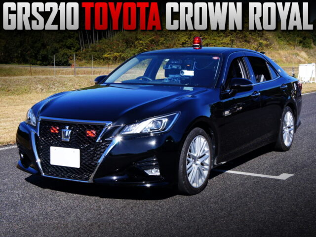 MASKED JAPAN POLICE CAR REPLICA OF GRS210 CROWN ROYAL.