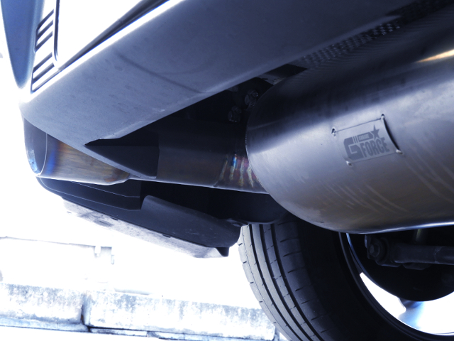 G-FORCE EXHAUST MUFFLER.