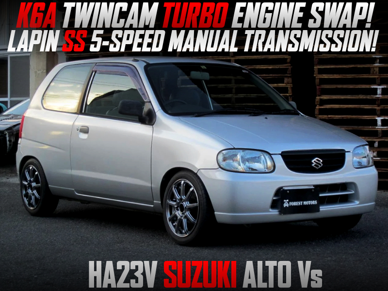 K6A TWINCAM TURBO SWAP with 5MT INTO HA23V ALTO Vs.