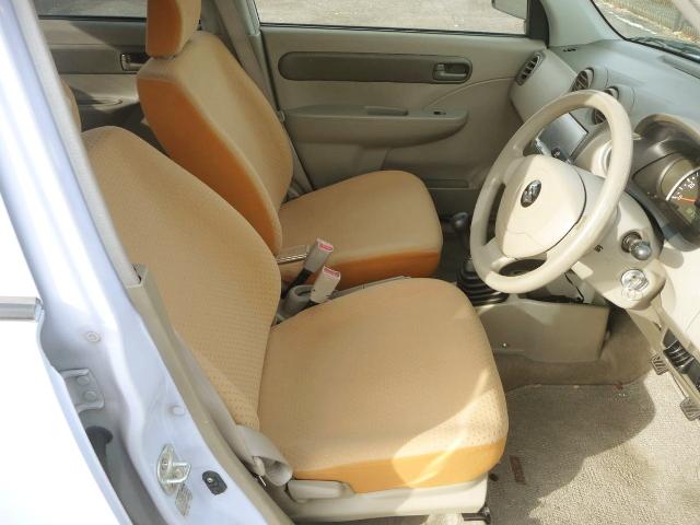 SEATS OF HA24S SUZUKI ALTO 5-DOOR.