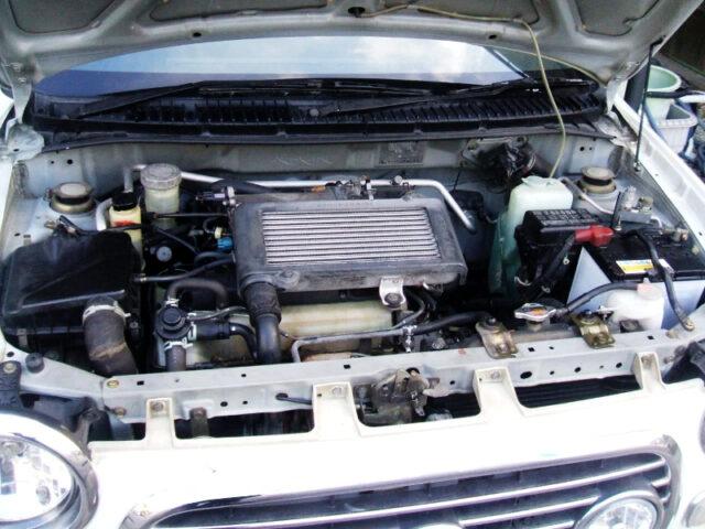 JB-DET 660cc TURBO ENGINE.