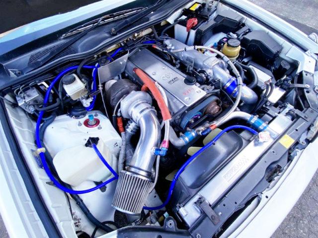 1.5JZ 3.0-liter With HKS GT3040 SINGLE TURBO.
