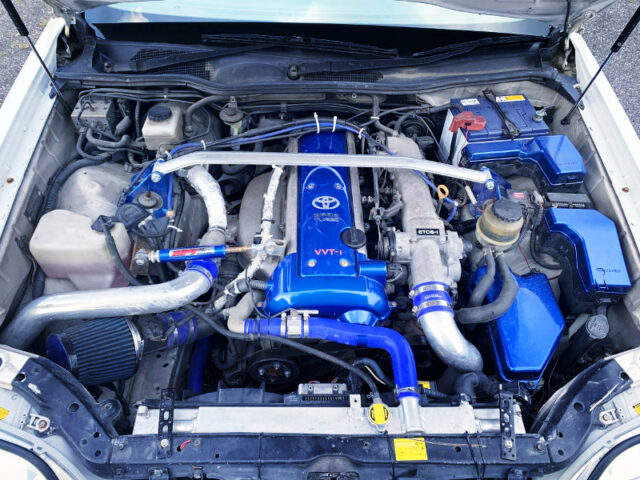 VVT-i 1JZ-GTE with TRD TURBINE.