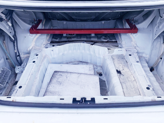 TRUNK SPACE.