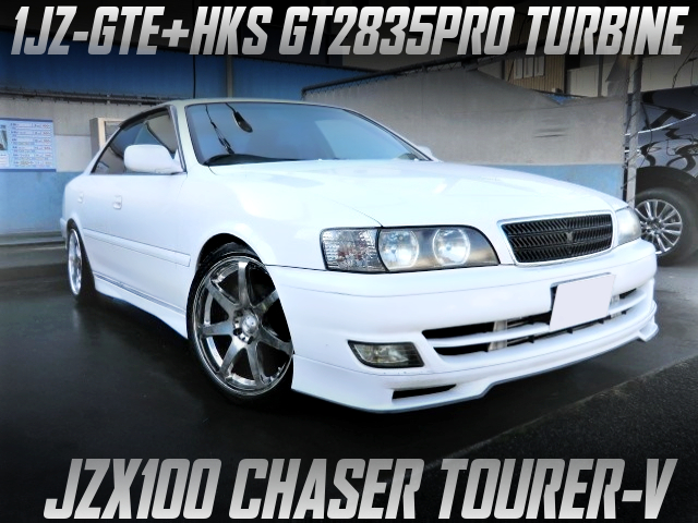 GT2835PRO TURBOCHARGED JZX100 CHASER TOURER-V.