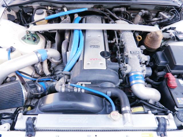 VVT-i 1JZ-GTE TURBO ENGINE with GT2835PRO TURBINE.