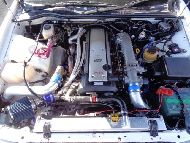VVT-i 1JZ-GTE TURBO ENGINE With ZSS TURBINE KIT.