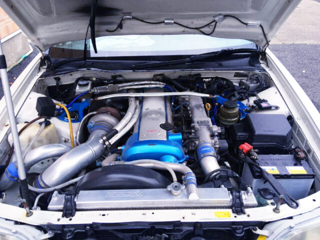 1JZ-GTE ENGINE with TD06-25G TURBO.
