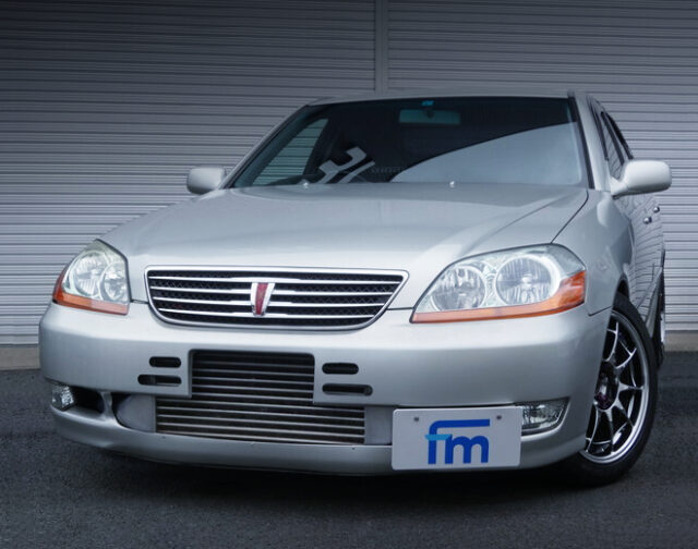 FRONT EXTERIOR OF JZX110 MARK 2 GRANDE iR-V.