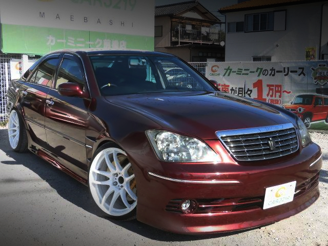 FRONT EXTERIOR OF JZX110 MARK2 with ZERO CROWN FRONT END.