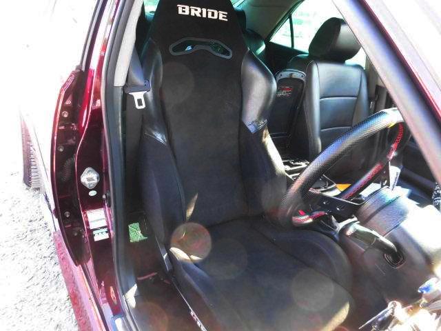 BRIDE SEMI BUCKET SEAT.