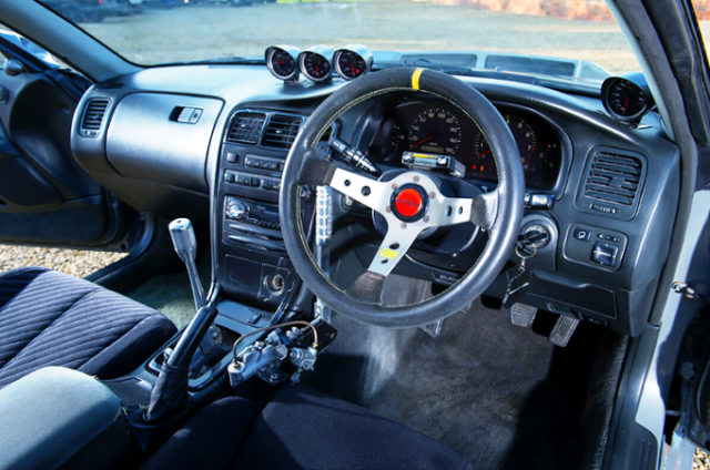 INTERIOR OF JZX90 CHASER.