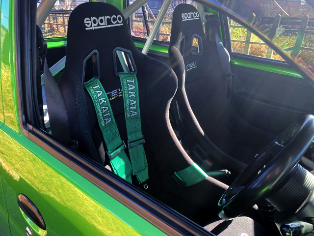 SPARCO FULL BUCKET SEATS.