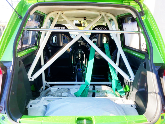ROLL CAGE and TWO-SEATER CONVERSION.