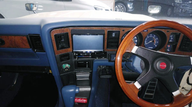 DASHBOARD OF MS105 CROWN.