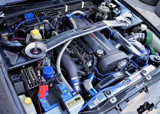RB26DETT with 2.7L and GT-SS TWINTURBO.