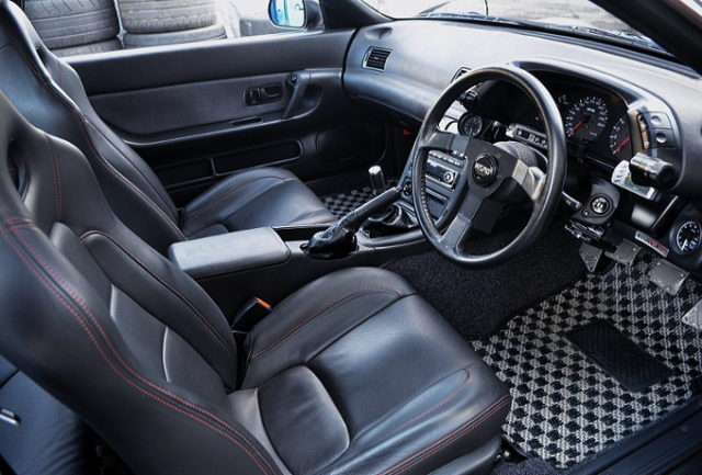 INTERIOR OF R32 GT-R.