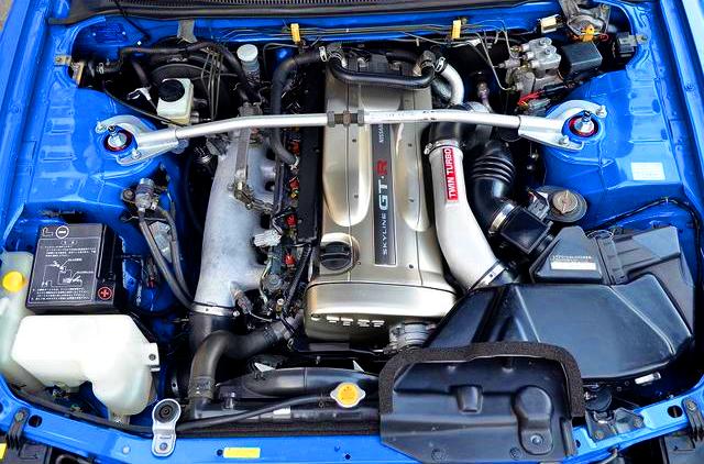 Nur RB26DETT N1 TWIN TURBO ENGINE.