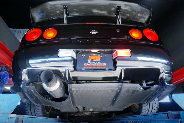 REAR TAIL LIGHT And MUFFLER.