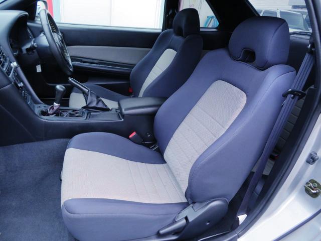 SEATS OF R34 SKYLINE 2-DOOR.
