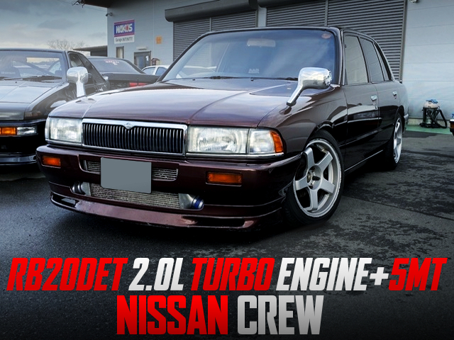 RB20DET and 5MT CONVERSION TO NISSAN CREW.