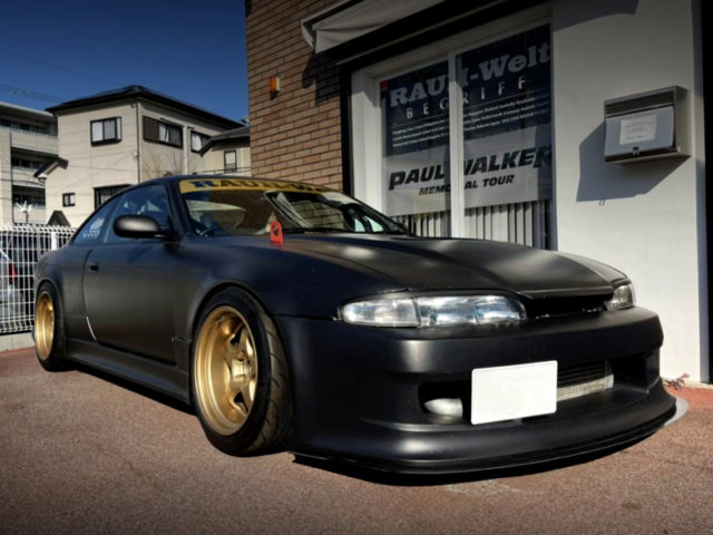 FRONT EXTERIOR OF S14 ZENKI SILVIA To RWB WIDEBODY.