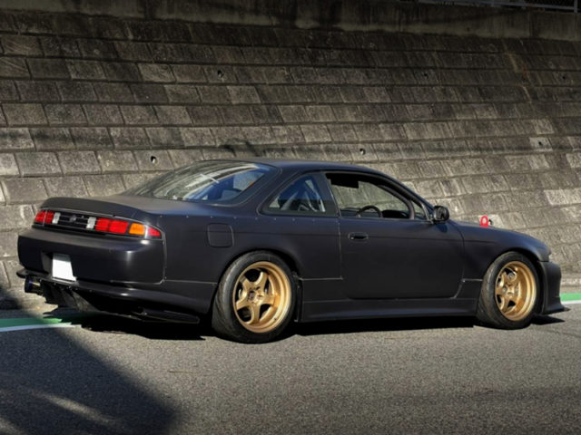REAR EXTERIOR OF S14 ZENKI SILVIA To RWB WIDEBODY.