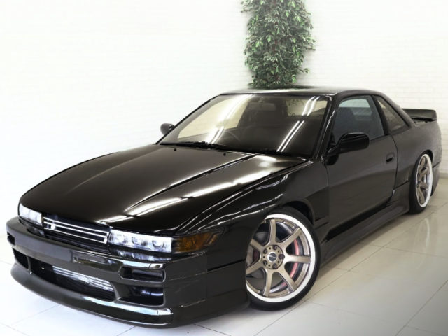 FRONT EXTERIOR OF S13 SILVIA to DARK BROWN.