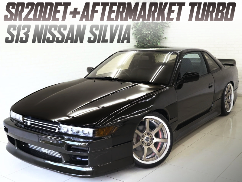 AFTERMARKET TURBOCHARGED S13 SILVIA WIDEBODY.