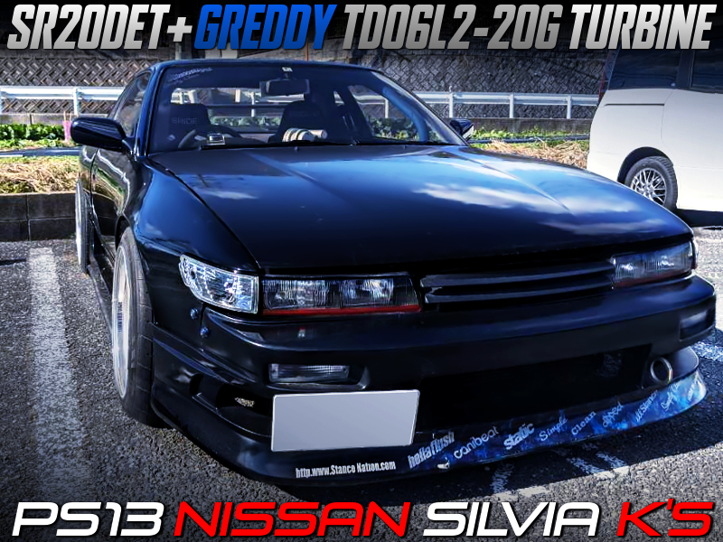 GREDDY TD06L2-20G TURBOCHARGED PS13 SILVIA Ks WIDEBODY.