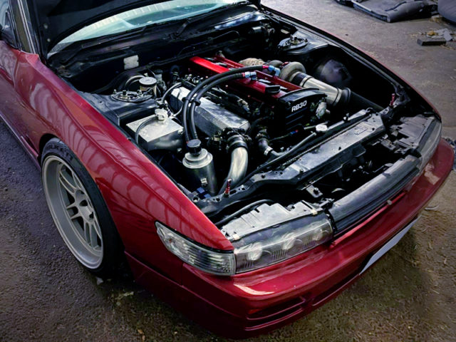 RB30DET 3.0L TURBO ENGINE.