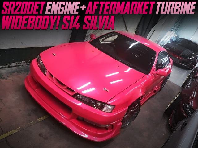 AFTERMARKET TURBO ON SR20DET WITH S14 SILVIA PINK.