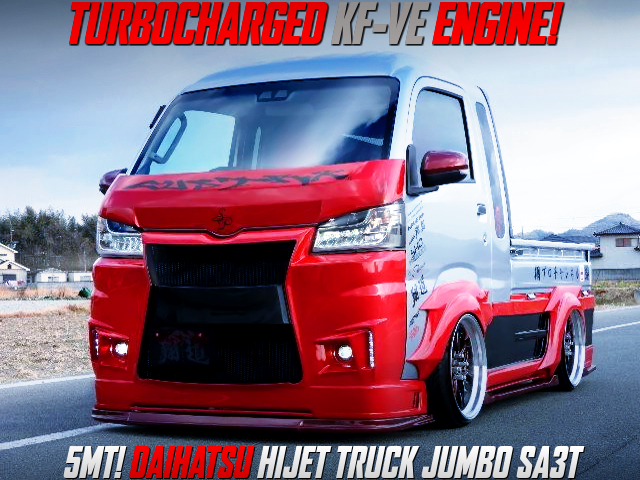 KF-VE with BLOT ON TURBO INTO S510P HIJET TRUCK JUMBO.
