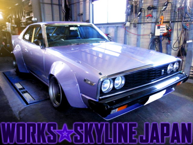WORK WIDEBODY and L28 SWAP of HGC211 SKYLINE JAPAN.