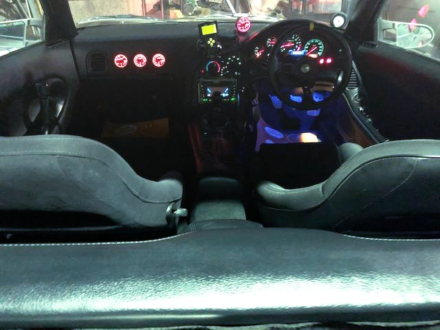 INTERIOR OF FD3S RX-7 TYPE-RS WIDEBODY.