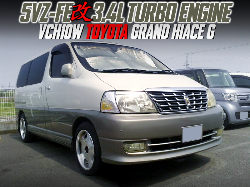 3.4L TURBOCHARGED 5VZ-FE into GRAND HIACE G.